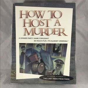 Vintage How to Host a Murder Board Game